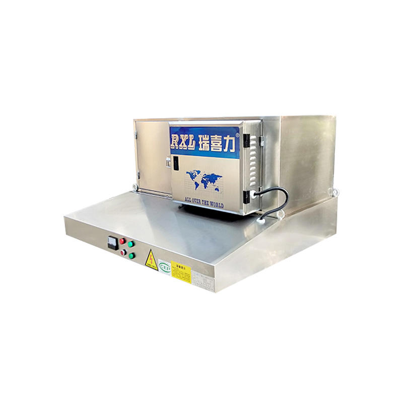 Eco-friendly Commercial Kitchen Exhaust Hoods With Electrostatic Precipitators  DGRH-KA-3000