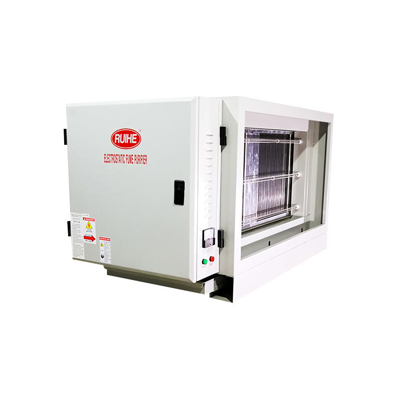 Restaurant Kitchen Electrostatic Precipitator (ESP) - High Altitude Air Emission DGRH-K-7000