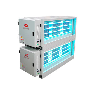 Fume Removal Rate Commercial Kitchen Electrostatic Precipitator for Air Extractor DGRH-K-21000