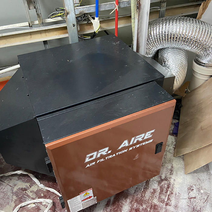 3KG Batch Coffee Roaster ESP Installation In China Town, USA